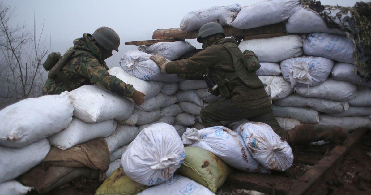 Боевики стреляли из БТР возле населенного пункта - штаб ООС