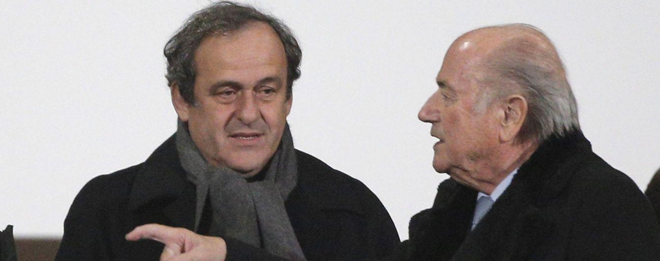 ФИФА собирается судиться с Блаттером и Платини