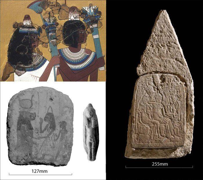 конічні шапоки єгиптян