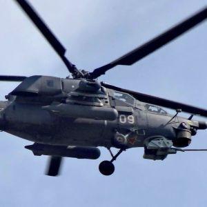 На Кубани разбился вертолет российской армии