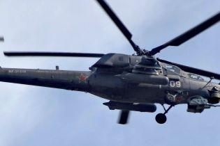 На Кубані розбився вертоліт російської армії
