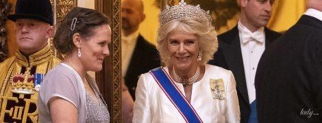 Какая красивая: 72-летняя герцогиня Корнуольская в роскошной тиаре на приеме во дворце