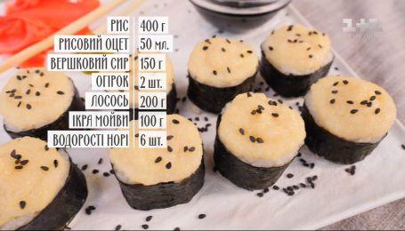 Теплые роллы с икрой мойвы – рецепты Руслана Сеничкина