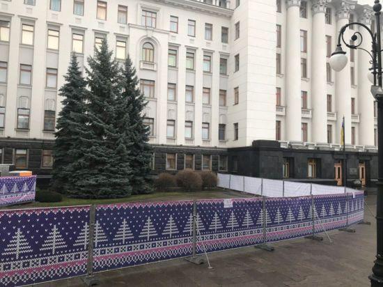 Біля Офісу президента з'явиться новорічна ковзанка