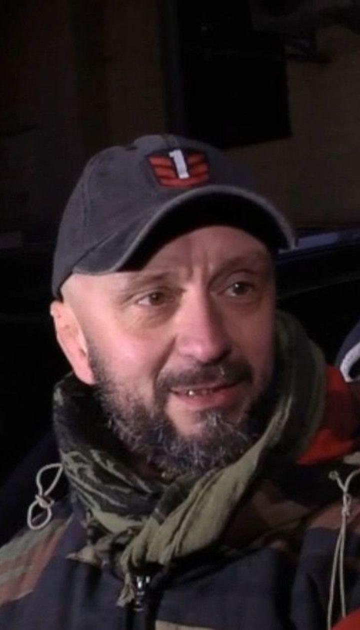 Ветеран АТО Андрей Антоненко рассказал, как ему объявили о подозрении в убийстве Шеремета
