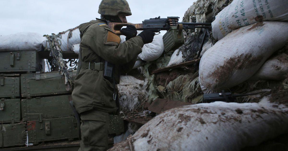 Протягом доби бойовики двічі порушили режим припинення вогню - ООС