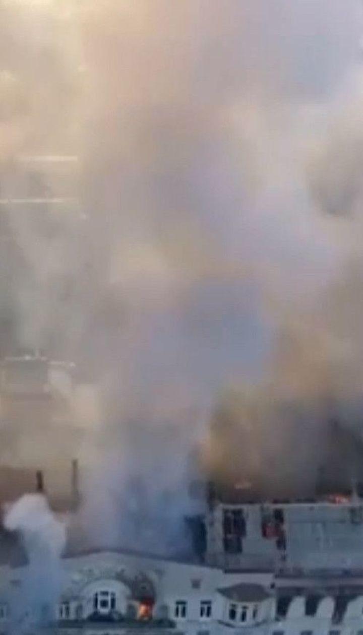 В Одессе из-под завалов сгоревшего колледжа достали всех погибших