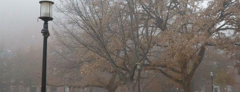 Погода на пятницу: в Украине туман, а местами дожди