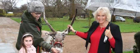 Камилла, елка и олень: герцогиня Корнуольская устроила рождественскую вечеринку в Кларенс-хаус