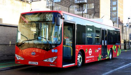 BYD получил крупнейший в Европе заказ на электробусы