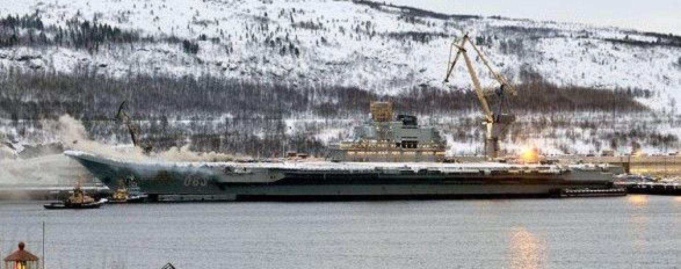"""Пожар на крейсере """"Адмирал Кузнецов"""" удалось ликвидировать: судьба одного человека до сих пор неизвестна"""