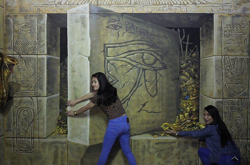 музей тривимірного мистецтва, Дубай