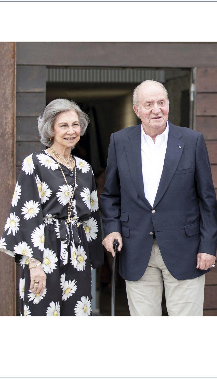 Іспанська королева Софія и король Хуан Карлос I