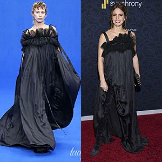 Кому більше пасує сукня від Balenciaga?