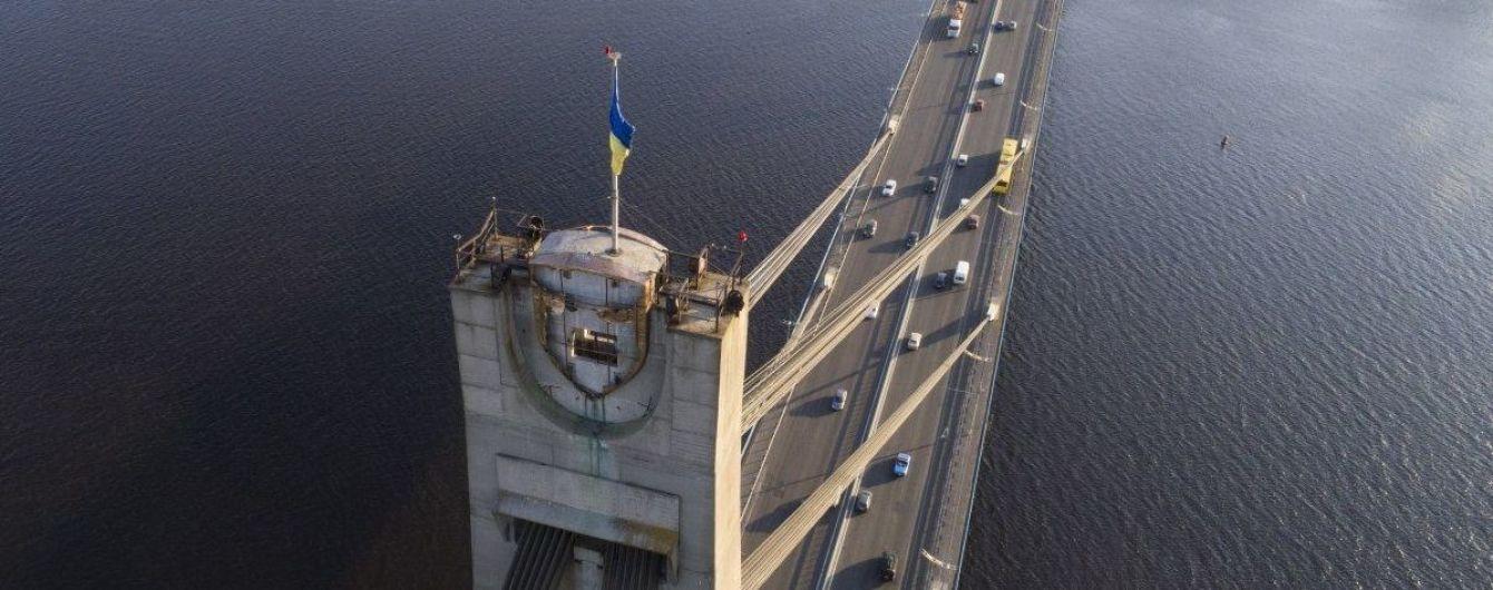 На Північному мосту в Києві обмежать рух транспорту