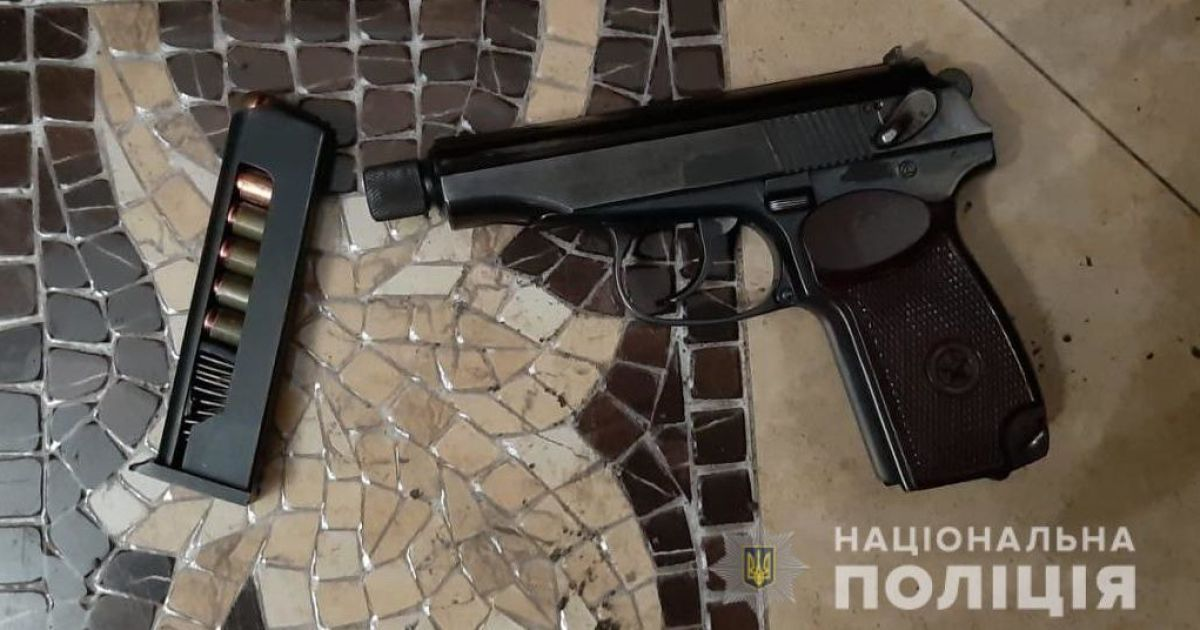 На Київщині злочинці напали на підприємця та обстріляли поліцейських