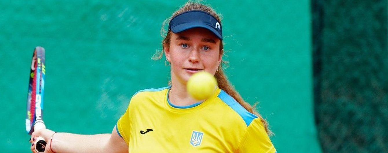 Украинка Снигур уступила в финале турнира в Дубае