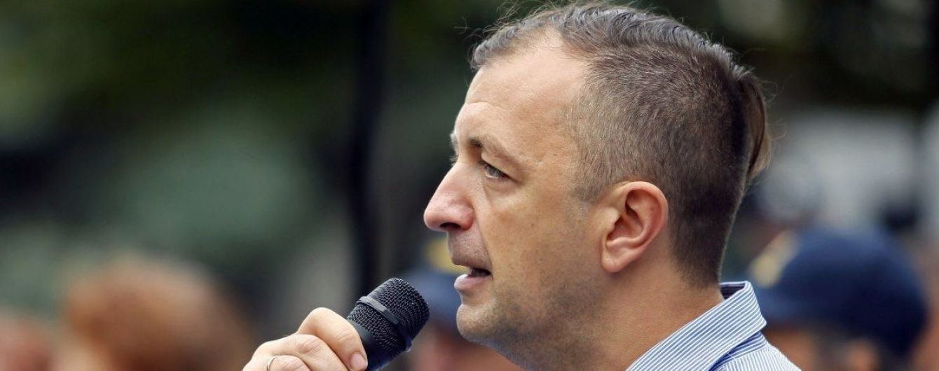 """Драка в Раде: """"свободовец"""" Леонов попал в больницу накануне суда"""