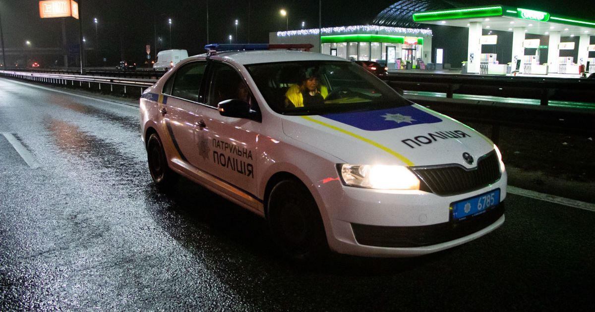 Во Львове задержали водителя, у которого уровень алкоголя в крови превышал норму в 22 раза