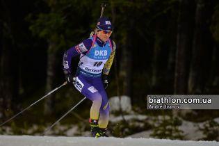 Валя Семеренко финишировала в топ-20 спринта на Кубке мира