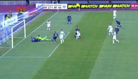 Десна - Динамо - 0:1. Відео голу Циганкова