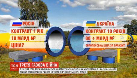 Загроза газової війни: Україна та РФ досі не дійшли згоди щодо транзиту блакитного палива