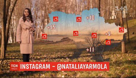 Весна перед Новым годом: в некоторых регионах Украины ожидают температуру до +15