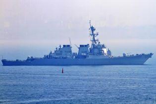 В Черное море вошел ракетный эсминец США Ross