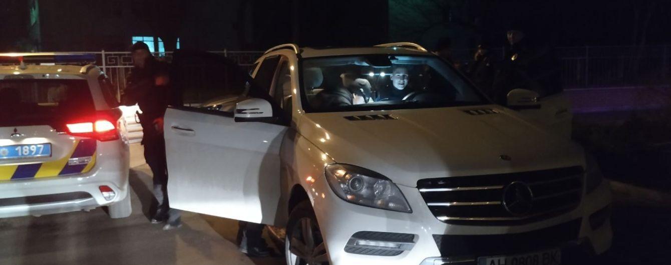 В Киеве 18-летний парень без прав удирал от полиции на скорости около 200км/ч
