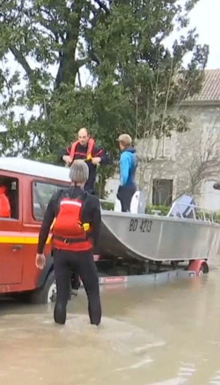 Два человека погибли на юго-западе Франции из-за наводнения