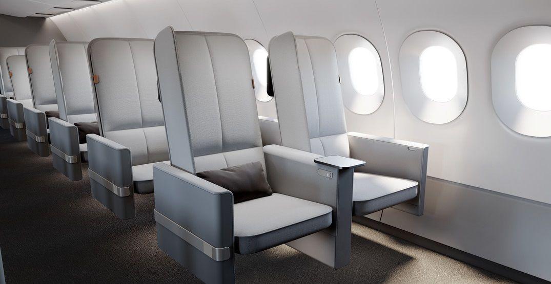 новий дизайн крісел економ-класу