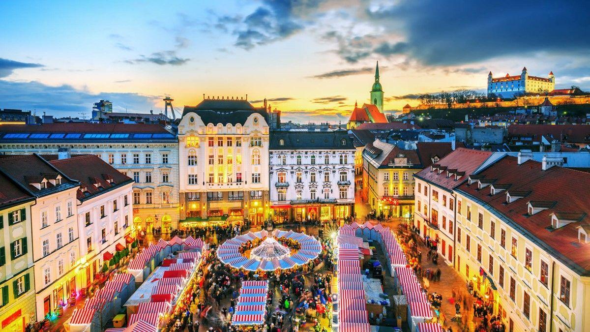 різдвяні ярмарки Будапешт