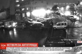 В Ровно 43-летний мужчина похитил микроавтобус и поехал кататься по городу
