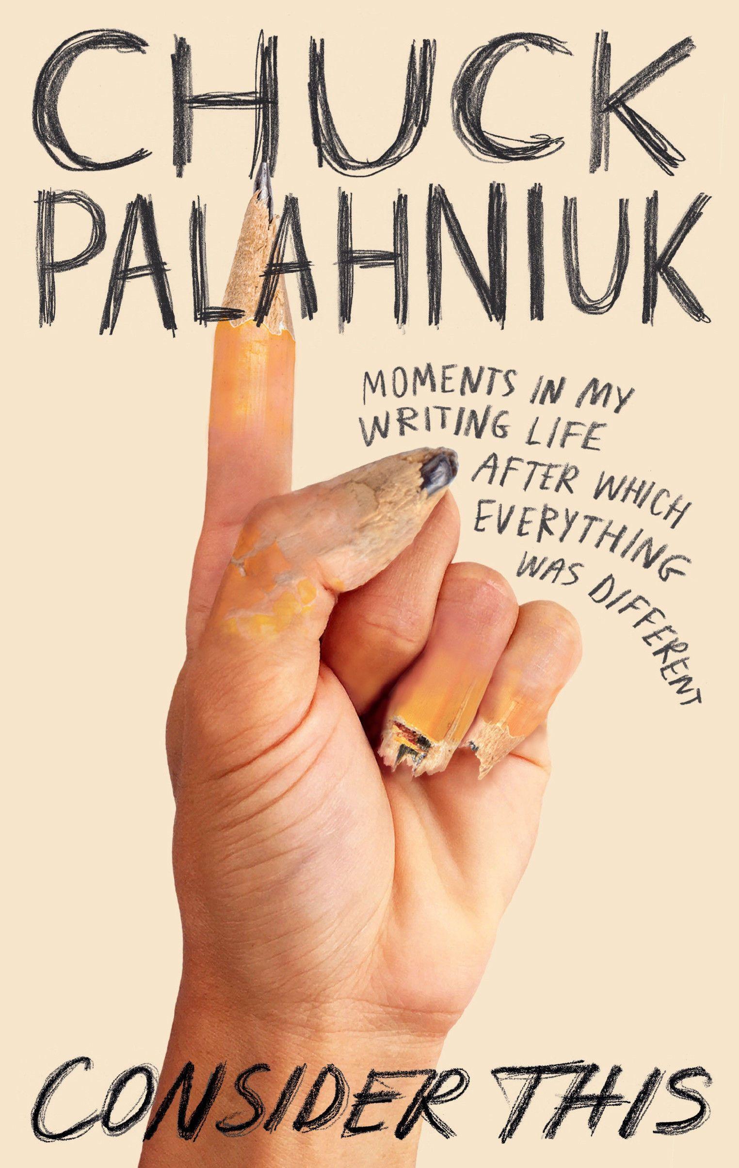 Чак Поланік, новая книга 7 января 202