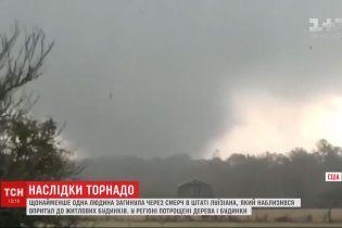 Мощный шторм прокатился американским штатом Луизиана