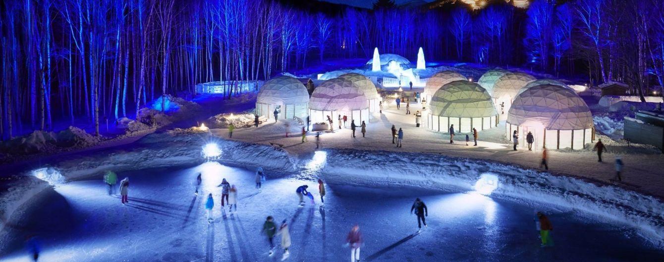 У Японії туристам пропонують відвідати крижане місто