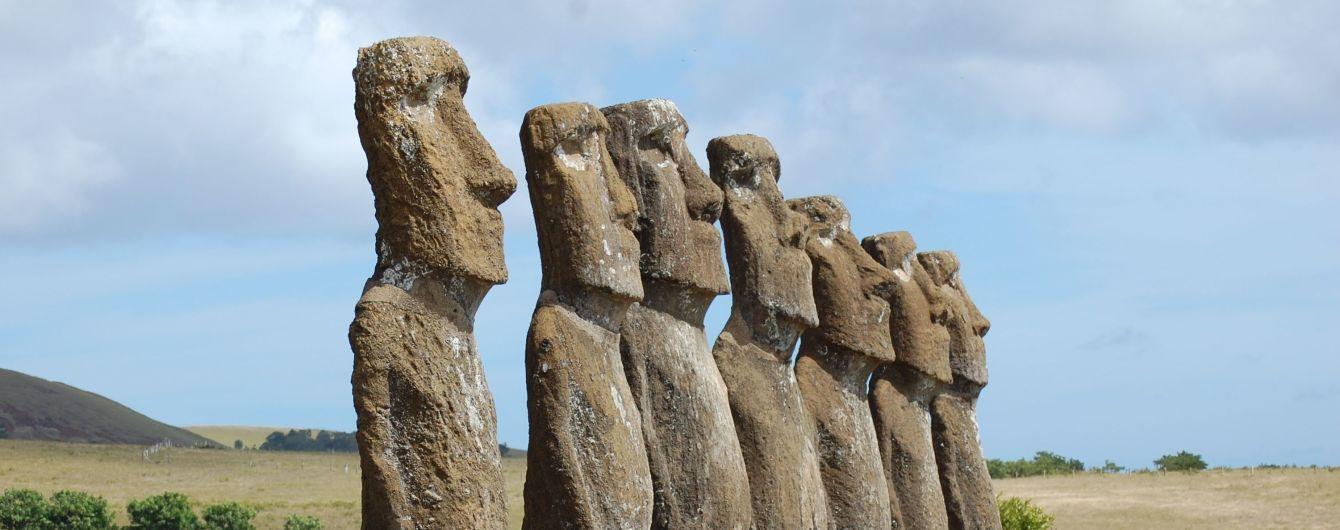 Гігантські кам'яні ідоли острова Пасхи. Учені розкрили таємницю загадкових людиноподібних скульптур