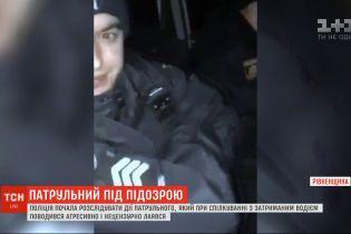 Схопився за автомат та почав нецензурно лаятися: на Рівненщині - скандал за участю патрульних