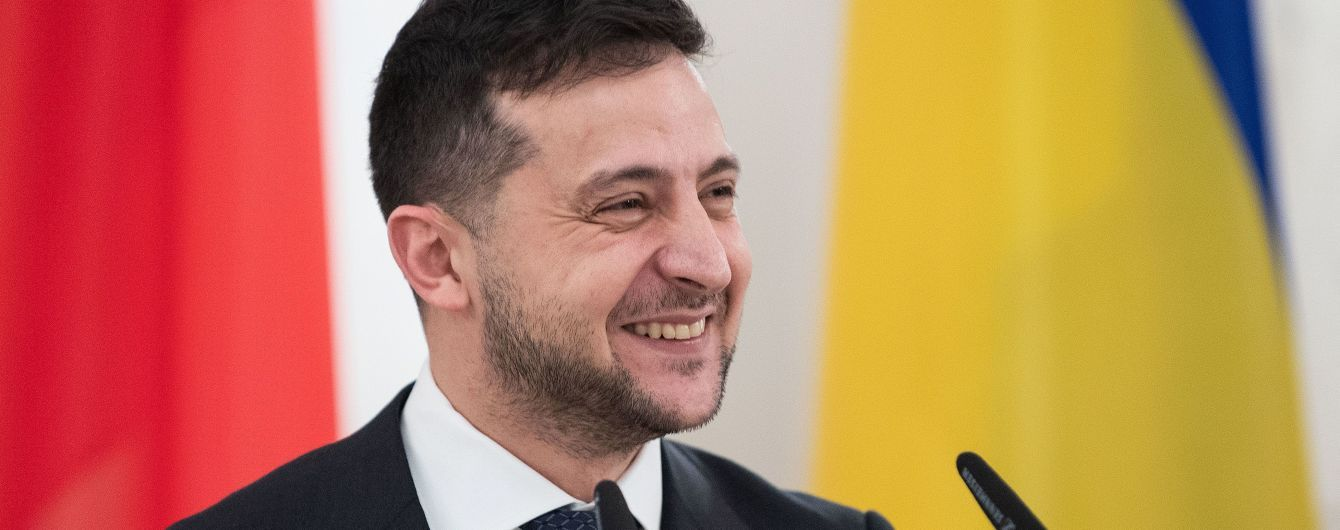 Зеленський дав перше інтерв'ю російському телеканалу - ЗМІ