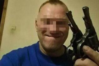 Правоохранители задержали любителя селфи с оружием, который в Яготине обстрелял полицейских