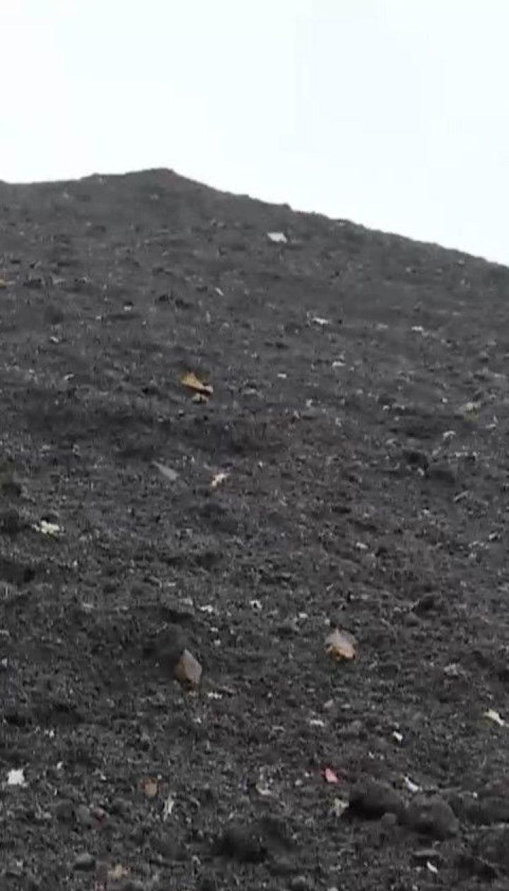 До херсонського порту завезли три тисячі тонн чорного піску невідомого походження