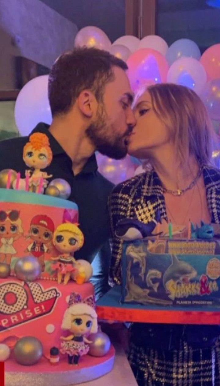Слава Камінська та її екс-чоловік Едгар пристрасно відсвяткували день народження дітей