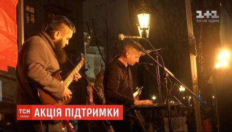 Концерт на підтримку затриманого Андрія Антоненка влаштували у Харкові