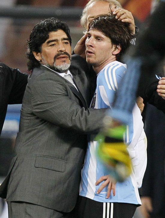 Марадона розповів, як Мессі переживає невдачі збірної Аргентини