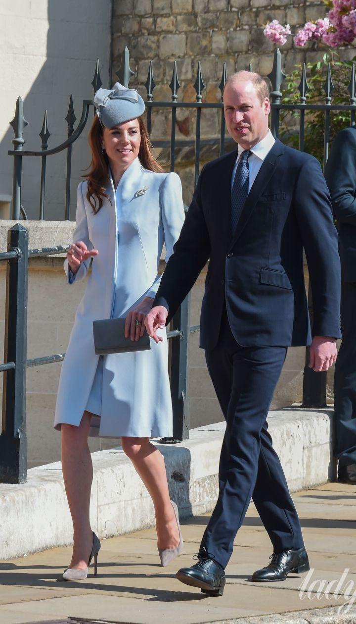 Герцогиня Кэмбриджская Кэтрин и принц Уильям