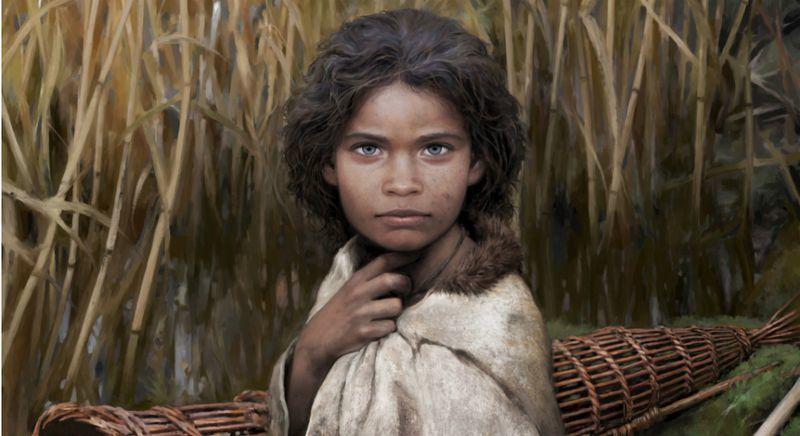 дівчина 5700 років тому