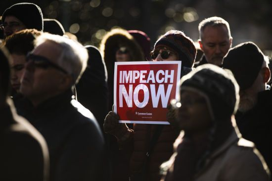 Імпічмент Трампа: голосування Палати представників Конгресу супроводжується масштабними протестами