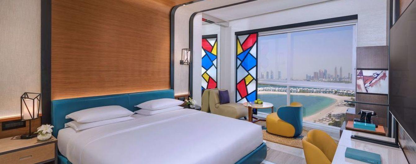 У Дубаї відкрили новий готель Andaz Dubai The Palm