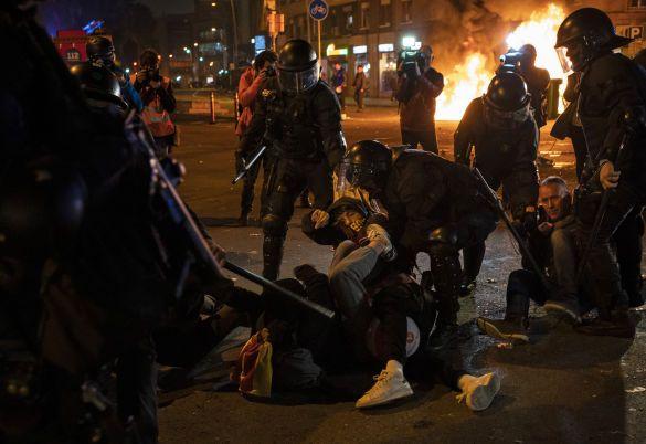 Протести в Каталонії