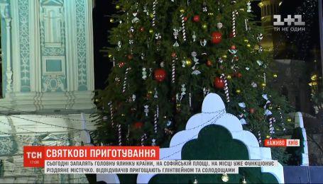 Праздничные приготовления: как выглядит главная площадь страны и когда засияет елка